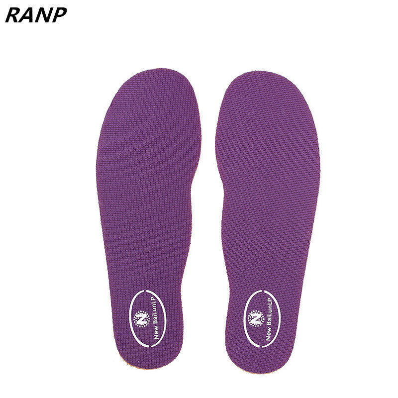 Warm Sport Breathable Insoles Soles Flat Foot Massage Shoes Pads Inserts Accessory Men Women Memory Foam Shock Absorption Soles