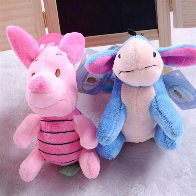 1 pcs Baby Rammelaars Pasgeboren speelgoed kinderwagen speelgoed Winnie cartoon baby bed rammelaar bebe baby pluche speelgoed 1