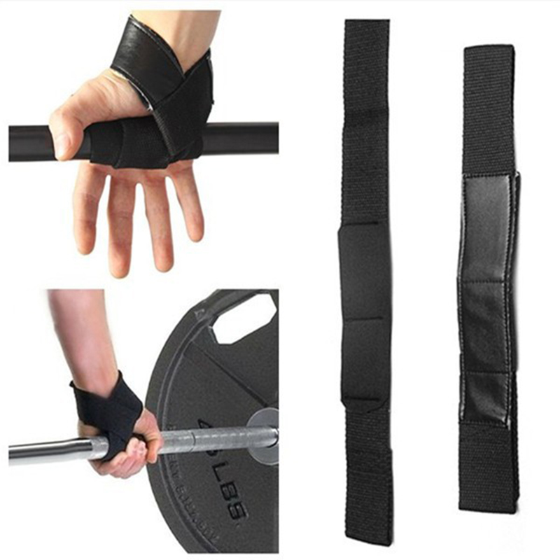 Weightlifting Belt Straps Gym Fitness Accessory Sport Professional Training Hand Straps Band Grab Support Wraps 1 Pair