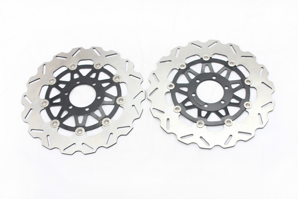 Motorcycle Front Brake Disc Rotors For DUCATI 900 SS 907 IE APRILIA  RST 1000 FZ 400 FZ750 bikingboy rear brake disc rotor for ducati 900 sport 900 ss cafe racer 900 ss carenata 900 ss supersport 1989 1999 900 cr usa