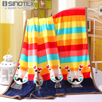 Home Textile Plaid Throws Solid Air Sofa Bedding Coral Flannel Blanket Winter Warm Soft Bedsheet 120