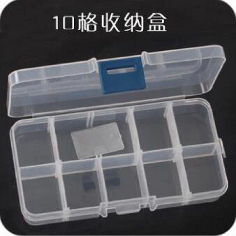 10 cellás tároló doboz ékszerdoboz cajas organizadoras rendező - Szervezés és tárolás - Fénykép 1