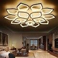 Современные светодиодные потолочные лампы с пультом дистанционного управления для гостиной  спальни  плафон  светодиодное освещение для д...