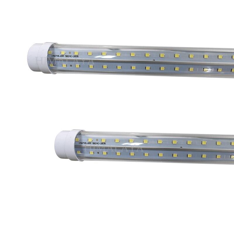 ФОТО Toika 100pcs 50W 1500MM 5ft T8 LED Tube Light High brightness  240/288led/PC   270 degree
