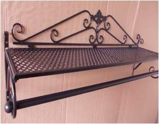 ... The Clothing Store Display Rack Clothes Rack Clothing Display Floor Garden  Wrought Iron Wall Hanging Shelf ...