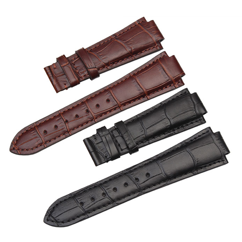 24*18mm High Quality Genuine Leather Watch Bands Strap Watch Men Accessories For Tissot T60 Bracelet