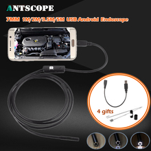 5M 3.5M 2M 1M Mini USB Android Endoscope Snake OTG USB Endoscope 7mm Lens IP67 Waterproof USB Borescope Pipe Inspection Camera