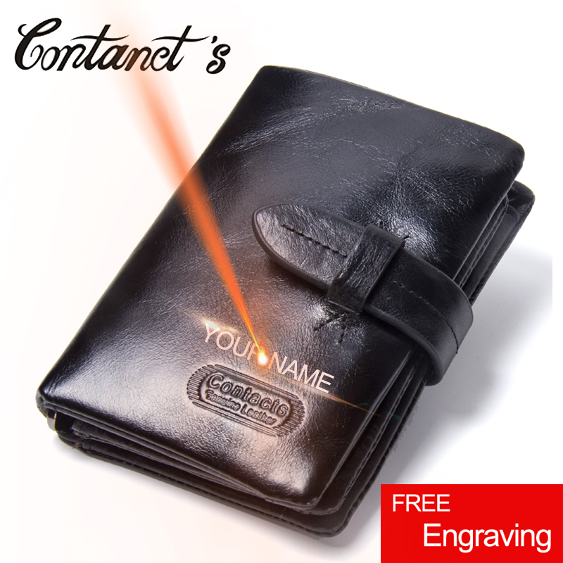 Classic Brand Men's Wallet Genuine Cowhide Leather Bifold Wallets Card Holder Hasp Design Zipper Small Short Purse Male Coin Bag mens wallets black cowhide real genuine leather wallet bifold clutch coin short purse pouch id card dollar holder for gift