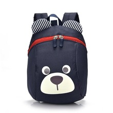 Baby Backpack Toddler Anti Lost lovely bear Cartoon Wrist Link Children Schoolbag Walking Leashes Bag