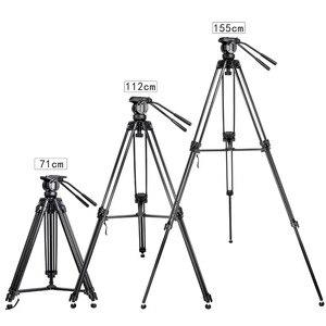 Image 5 - Zomei VT666 מקצועי מצלמה וידאו חצובה עם 360 תואר פנורמי נוזל ראש עבור DSLR למצלמות וידאו, DV, צילום