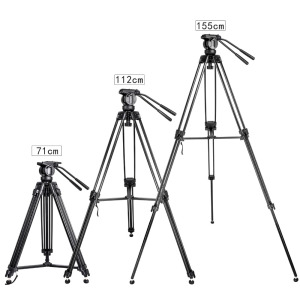 Image 5 - Zomei VT666 Professional Camera Video Tripod with 360 Degree Panoramic Fluid Head for DSLR Camcorder Video, DV, Photography