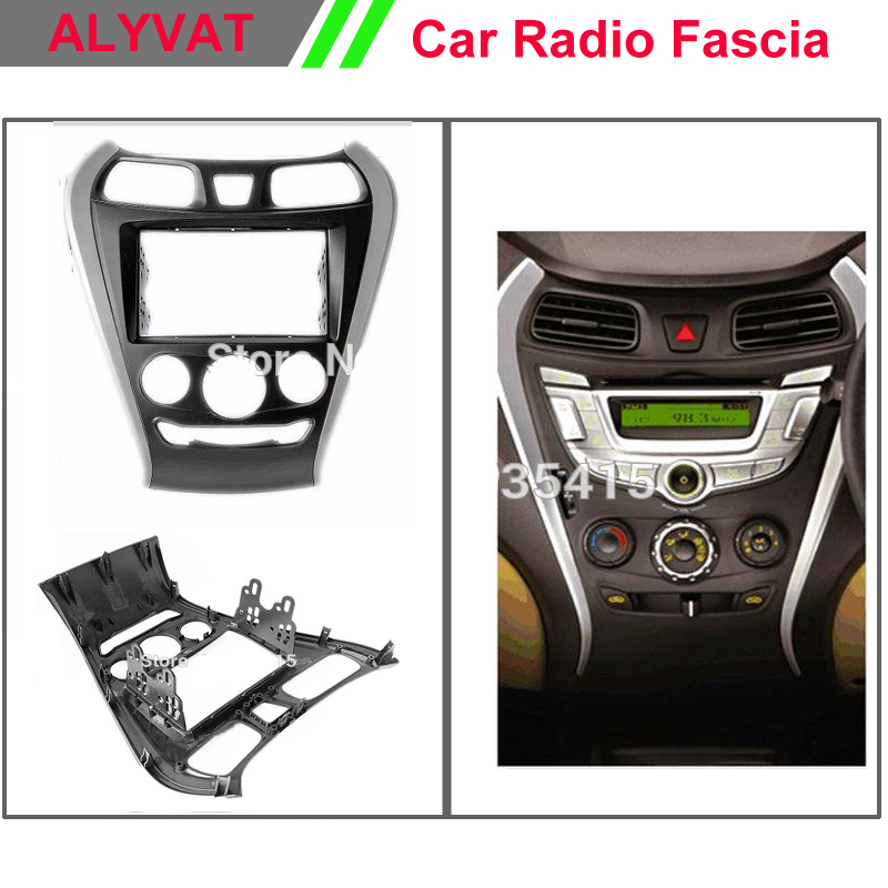 Top quality Car radio cd dvd Facia Frames for HYUNDAI EON 2011+ Stereo Fascia Dash CD Trim Installation Kit car radio dvd cd fascia panel for faw oley 2012 stereo dash facia trim surround cd installation kit