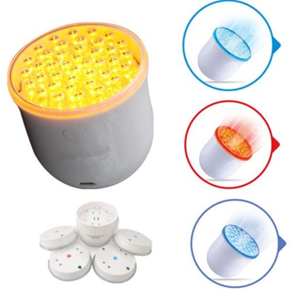 4Color LED Light Photon Rejuvenation Skin Acne Anti-Wrinkle Beauty Care Therapy anti acne pigment removal photon led light therapy facial beauty salon skin care treatment massager machine