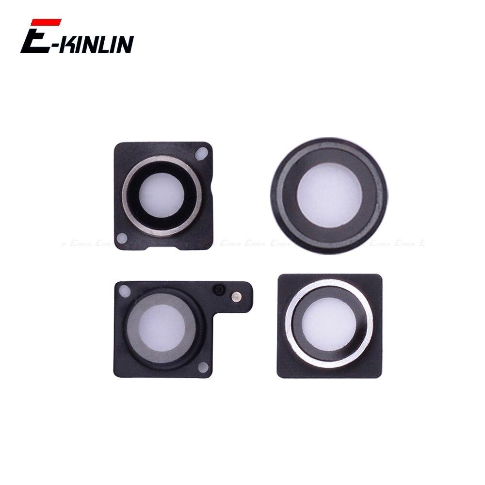 Rear Back Camera Glass Lens Cap Seal Bracket Ring Frame Holder For IPhone 4 4S 5 5S SE 5C 6 6S Plus
