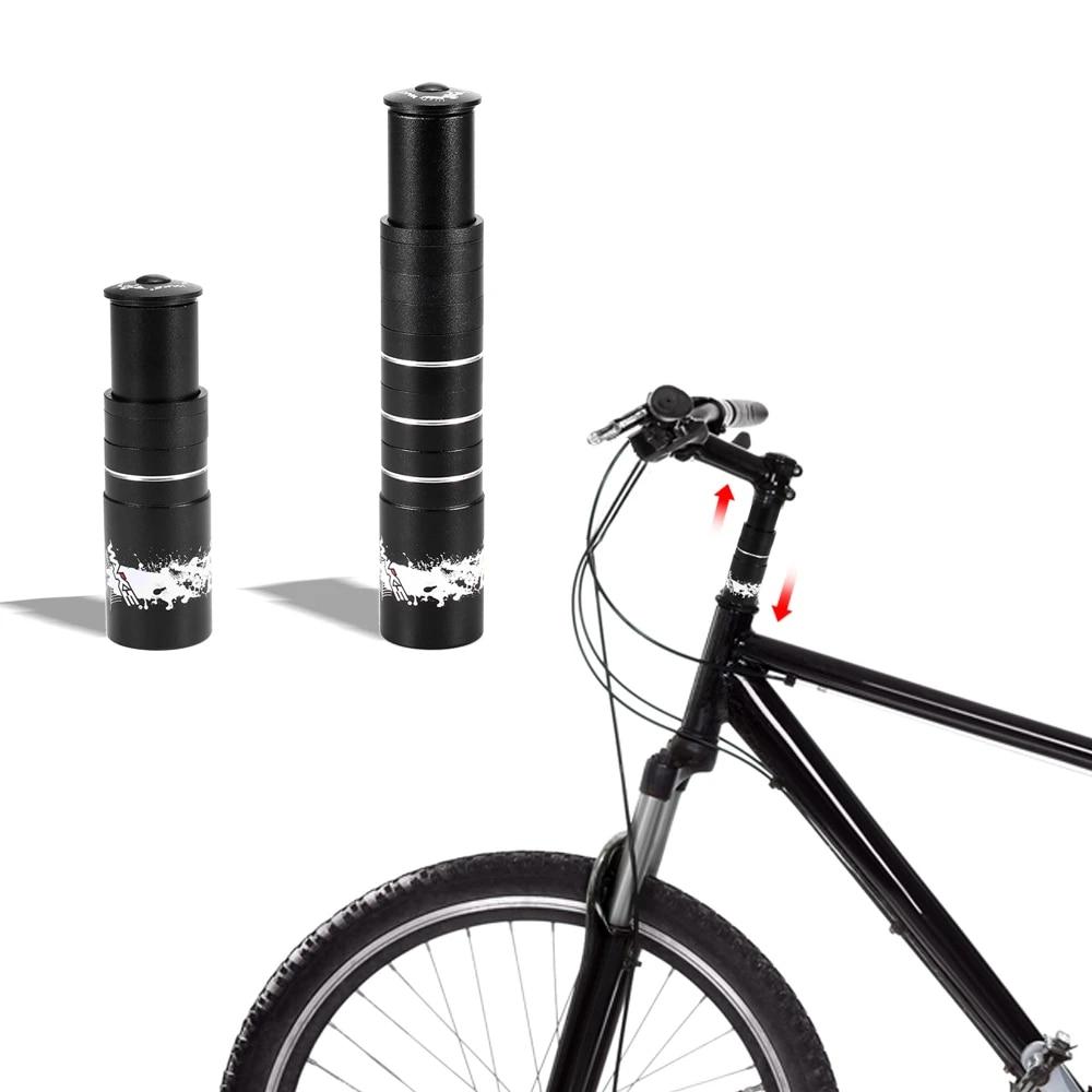 Handlebar Front Fork Stem Riser Extender Extension Head Up Adaptor Mountain Bike