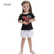Boby Girl Shirt 2018 Spring Summer Fashion Cool Sequins Short Sleeves Top Children For Kids Girls Clothes Clothing Shirts