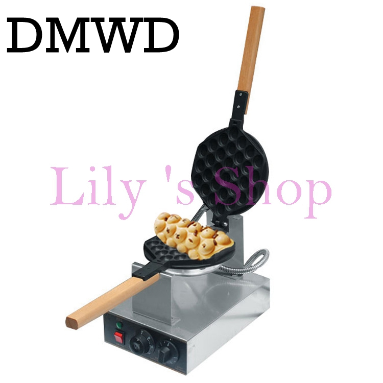 Best professional electric Chinese eggettes puff waffle iron maker machine bubble egg cake oven 220V/110V  EU US plug pc version digital stainless steel egg waffle maker machine egg puff machine bubble waffle machine non stick egg cake oven