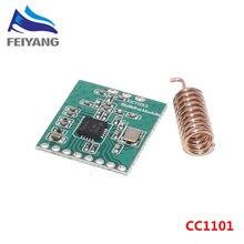 10 قطعة CC1101 وحدة لاسلكية لمسافات طويلة عبر هوائي 868MHZ M115