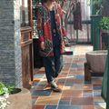 Оригинальный Ретро Трикотажные Вата Вычет Искусство Хлопок Женщины Зимнее Пальто 2017 Мода Карманные Твердые Многоцветный Куртка Женская