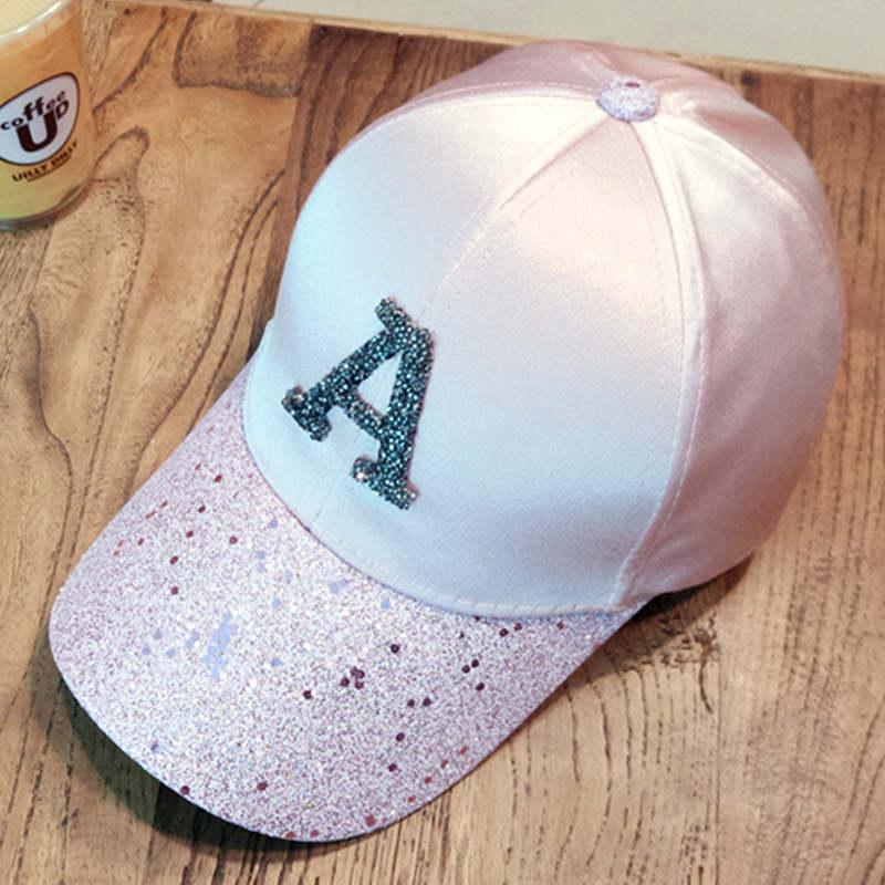 Baseball caps 2019 men's snapback cap dad hat rhinestone summer hat fashion hip hop cap women gorras para unisex beisbol gift 5