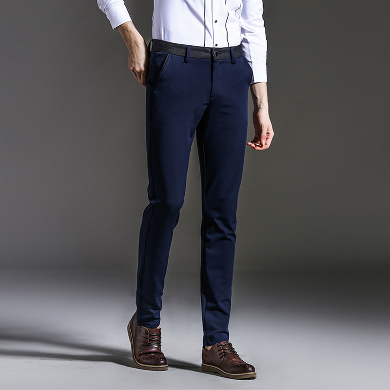 ESLITE HYUN slim fit Elastic Trousers skinny Pants For Man