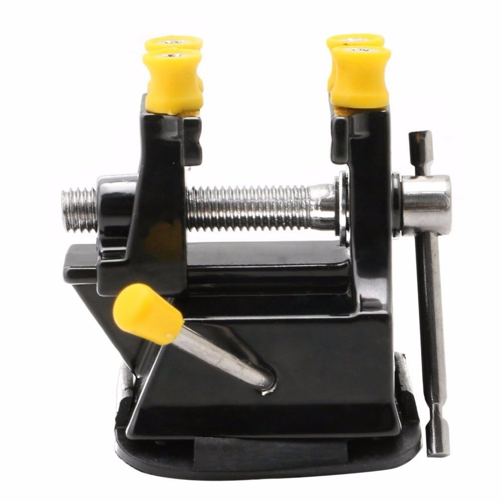 Купить с кэшбэком DIY Mini Jewelry Craft Mould Fixed Repair Woodworking Hand Tool Vice Suction Grip Vise