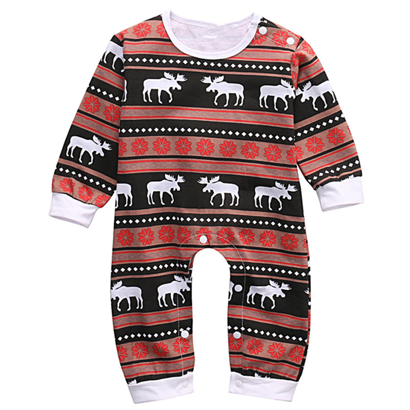 Newborn Baby Infant boy girls cotton Deer Romper 2017 new arrival fashion jumpsuit  Outfits Costume Age 0-18M new arrival boy costumes rompers cotton newborn infant baby boys romper jumpsuit sunsuit clothes outfits
