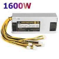 EU Plug ATX 12V 220A Computer Power Supply Gold POWER 1600W CPU Active PFC Efficient Ethereum