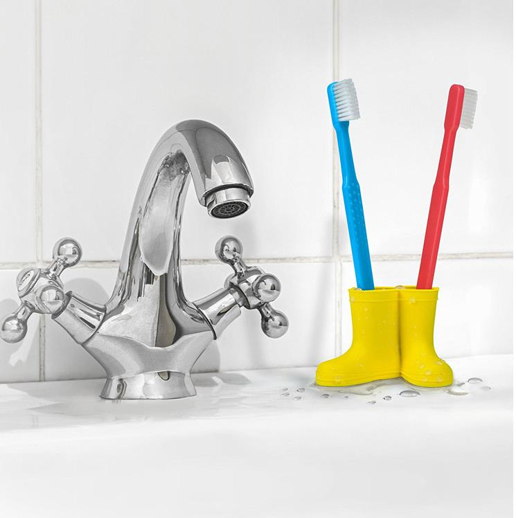 Silicone Toothbrush Holder  Toothpaste Draining Rack Bathroom Storage Jar For Toothbrush Stand For Toothbrushes Boots