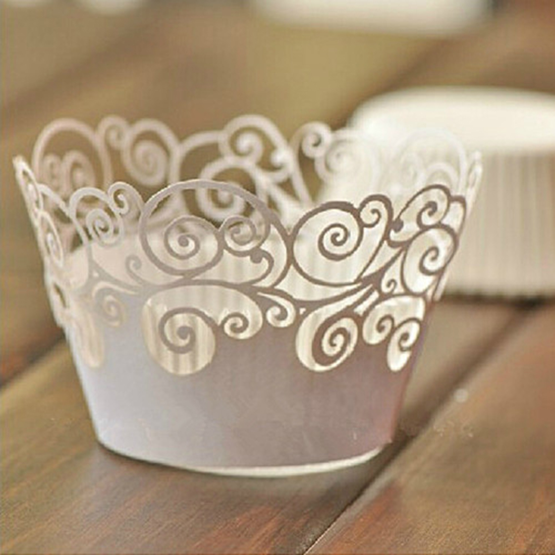 2 Pcs Packed Vine Flowers Cookie Cake Stencil Decorate Mould Surround Edge Tool