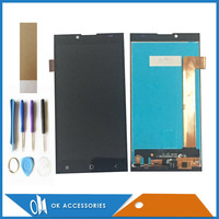 Black White Color For Prestigio Grace Q5 PSP5506 Duo LCD Display Touch Screen Digtizer With Tools
