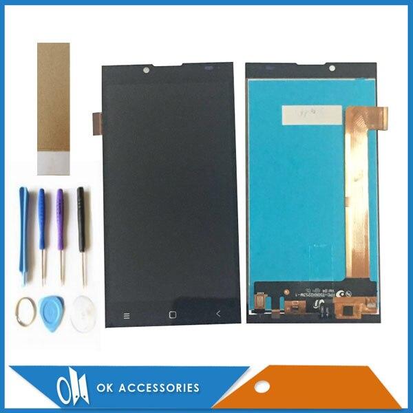 Pour Prestigio Grâce Q5 PSP5506 DOU PSP 5506 DUO PSP5506DUO PSP 5506DUO Écran lcd + Écran Tactile Digtizer Avec Outils bande 1 PC/Lot