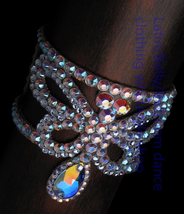 2016  New Arrival Latin Dance Accessories Senior Stones Bracelets For Women Latin Dance Bracelets DXSP0140001