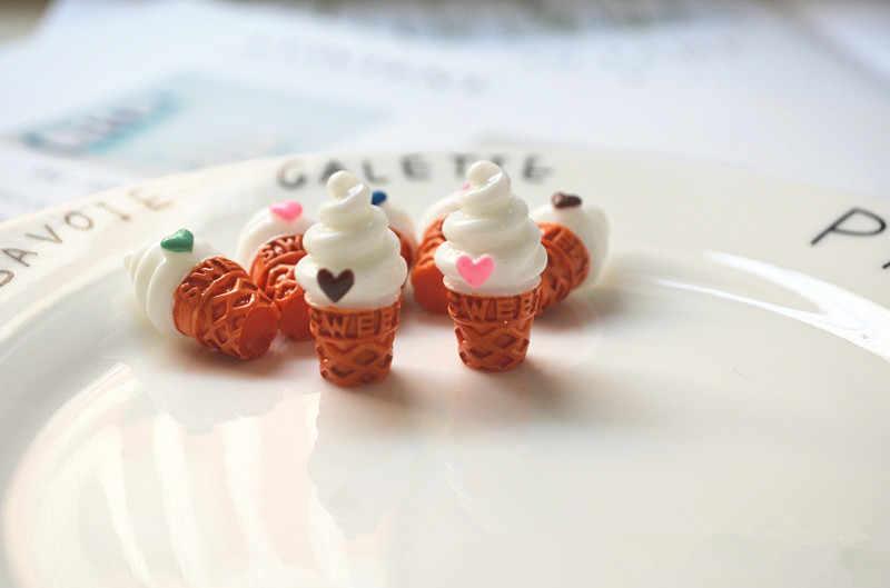 8 Pcs Mini Ice Cream para BJD Boneca de Brinquedo Casa de Boneca Decoração Caçoa o Presente