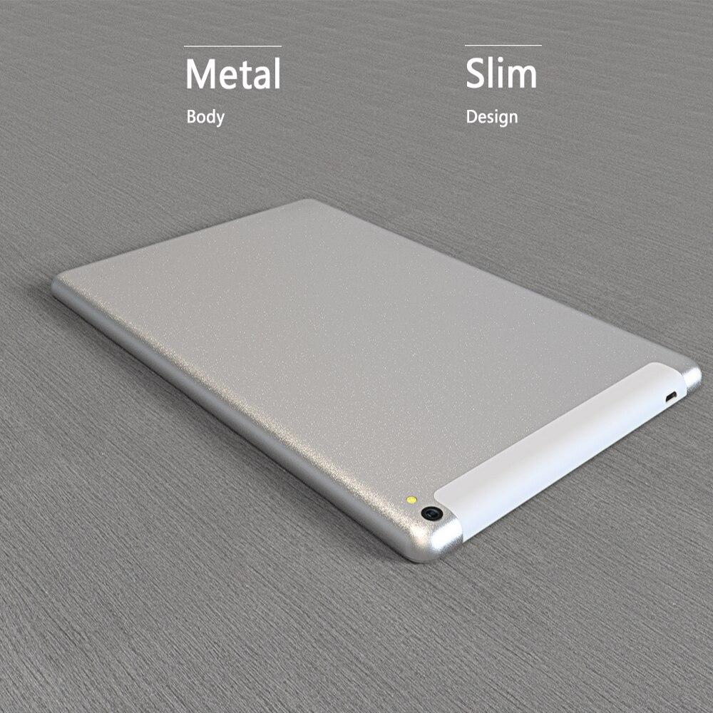 כיריים שניי להבות Dual סים 10.1 אינץ Tablet PC 4G LTE התקשר לטלפון אנדרואיד 7.0 Tablet PC Wi-Fi Bluetooth 4 GB 64 GB אוקטה ליבה כפולה SIM תמיכת GPS (4)