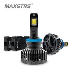 2x XHP70 XHP50 светодиодный чип H4 Hi/низкая 9003 HB2 H7 H8 H11 9005 HB3 9006 HB4 Автомобильный светодиодный головной светильник Светильник лампы Авто Canbus 9000LM 90W