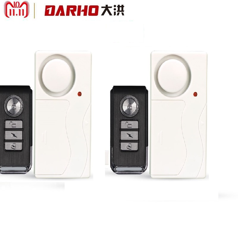 darho large volume home store security door window siren alarm warning system wireless door detector burglar alarm for25pcs 2Pcs/lot Darho Home Security Door Window Siren Magnetic Sensor Alarm Warning System Wireless Remote Control Door Detector