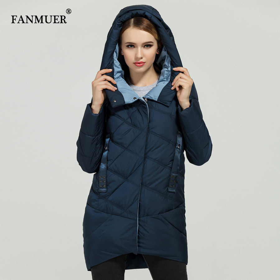 Fanmuer New 2017 Hot Sale Winter Womens Bio Down Thickening Jacket And Coat For Women High Quality Parka - 4