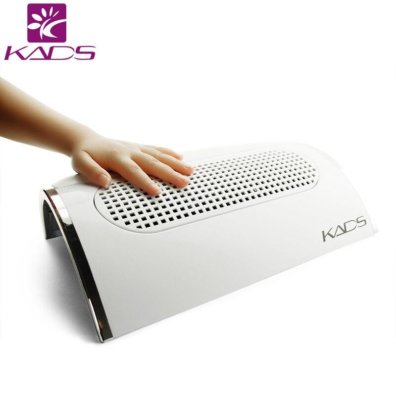 Collecteur de poussière de clou de KADS 110 V & 220 V collecteur d'aspiration de poussière d'art d'ongle avec la conception de repos de main pour l'équipement d'art d'ongle