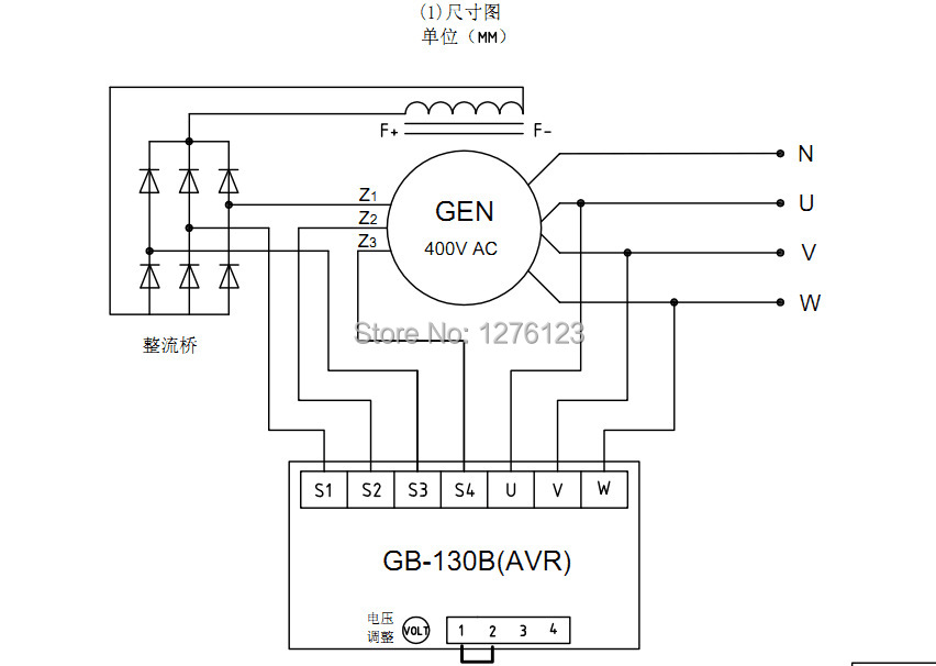 avr as440 wiring diagram avr generator wiring diagram