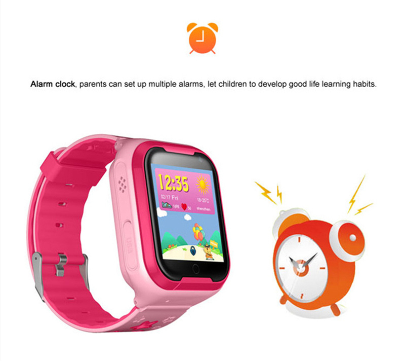 Kids GPS Tracker 4G Smart watch M05 LBS WIFI location SOS call Android 4.2 Pedometer Camera Children Smart watches M05 1PCS 7