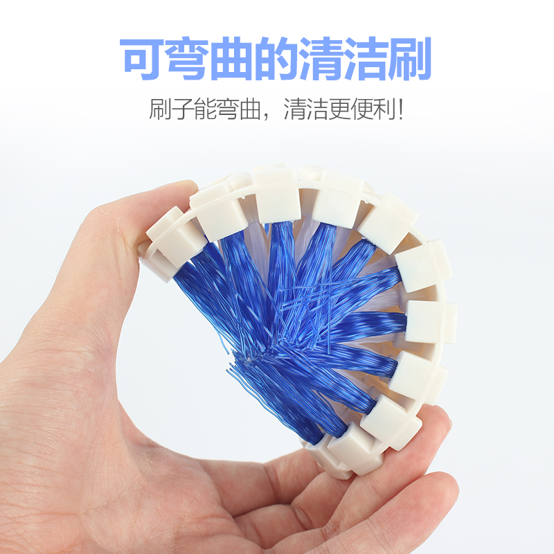 Creative Cleaning Brushes bending Deformation Brushes Household Cleaning Tools Bathtub brush Pool brush Kitchen Supplies Wash