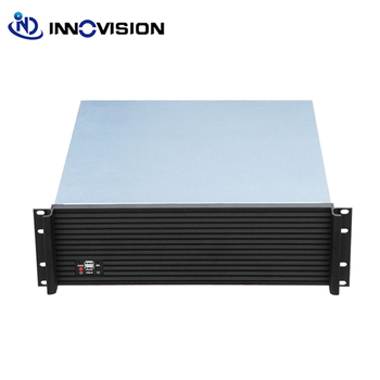цена на Upscale Design Industrial computer case RC3500L with Aluminum Front-panel 3U rack mount chassis/server case