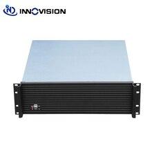 Upscale การออกแบบอุตสาหกรรมคอมพิวเตอร์ RC3500L อลูมิเนียมด้านหน้า   แผง 3U rack mount chassis/server กรณี