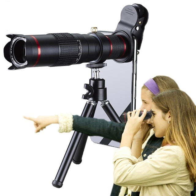 HD 4K 22x Telephoto Phone Lens Mobile Telescope