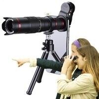 HD 4K 22x Telephoto Phone Lens Mobile Telescope Camera Lenses For iPhone Smartphone Zoom para celular Cellphone Lentes Kit