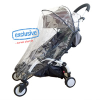 Rain Cover Weather Shield Plastic Clear Netting for Babyzen YOYO Stroller