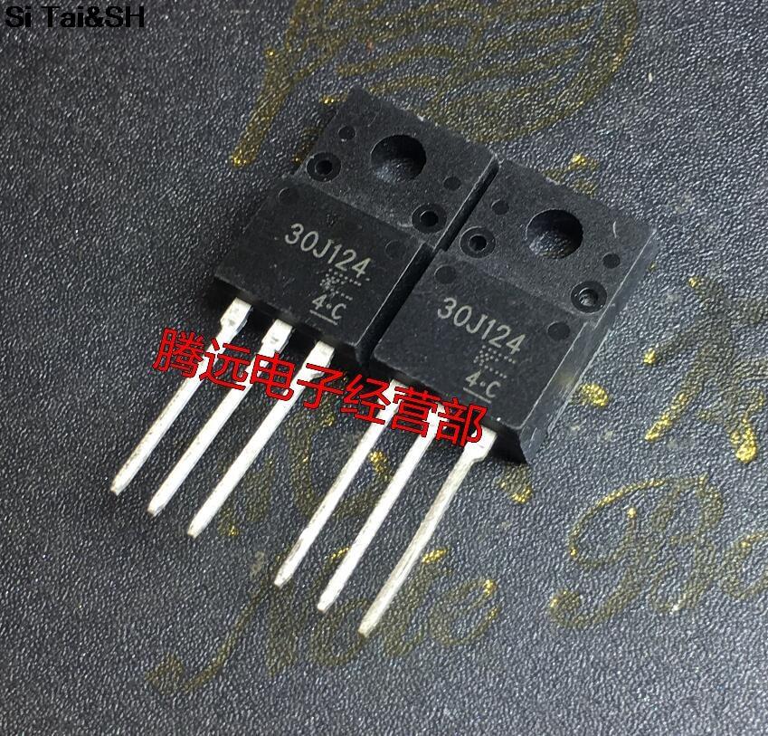 10PCS 30J124 GT30J124 TO220 LCD Plasma Commonly Used Tube New Original
