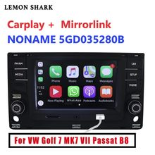6.5 MIB MQB 車ラジオ Carplay mirrorlink Bluetooth OPS 逆 Vw ゴルフ 7 MK7 7 パサート B8 5GD 035 280B(China)