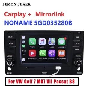 Image 1 - Radio de coche MIB MQB, Carplay mirrorlink, Bluetooth OPS, cámara de marcha atrás para VW Golf 7 MK7 seven Passat B8 5GD 035 280B, 6,5
